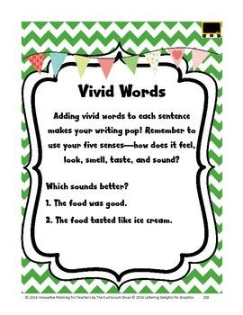 Vivid Words Lesson Grades 2-5