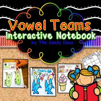 Vowel Team Interactive Notebook