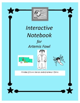 Interactive Notebook for Artemis Fowl