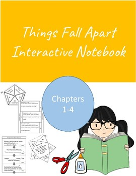 Interactive Notebook for English Literature- Things Fall A