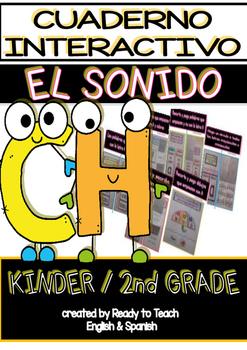 Interactive Notebook in Spanish - Sound CH