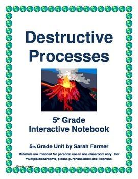 Interactive Notebook on Destructive Processes