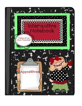 Interactive Notebook~Appositives