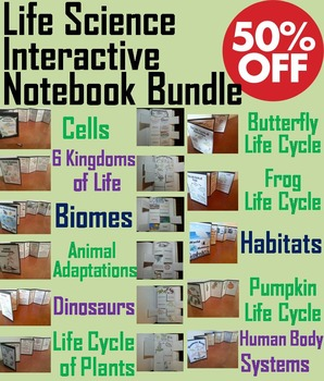 Life Science Interactive Notebooks