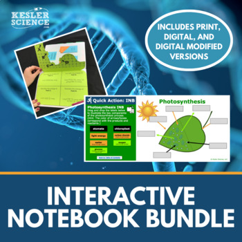 cience Interactive Notebooks Bundle - Includes all 8 of my Best-Selling INB's