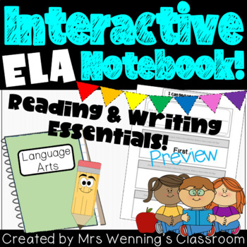 Interactive Notebooks - Essential Templates for Reading an