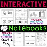Common Core Interactive Notebooks Phonics Bundle