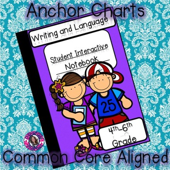 Interactive Notebook Writing, Language, and Speaking and L