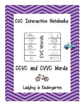 Interactive Notebooks for CVC, CVCe, CVVC and CCVC