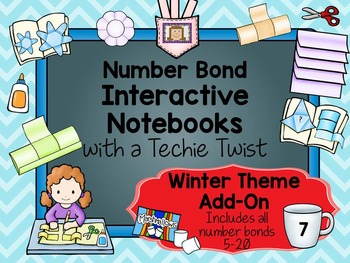 Interactive Notebooks with a Techie Twist!  Add-On Winter