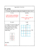 Interactive Notes: Linear Equations in the form y=mx or y=