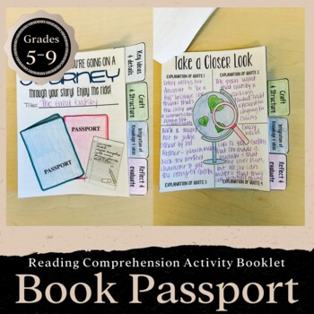 Interactive Passport Activity for Any Novel: CCSS Aligned-