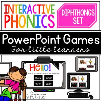 Interactive Phonics ~ DIPHTHONGS