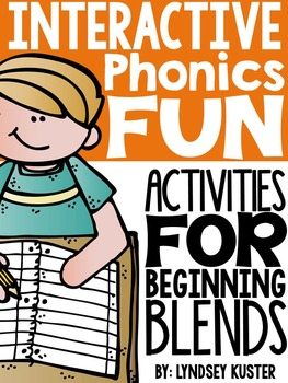 Interactive Phonics Fun {All About Blends}