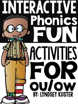 Interactive Phonics Fun {ou and ow}