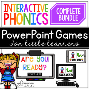 Interactive Phonics ~ GROWING BUNDLE