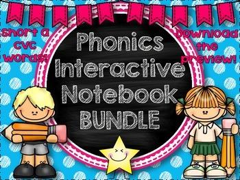 Interactive Phonics Notebook {GROWING BUNDLE}
