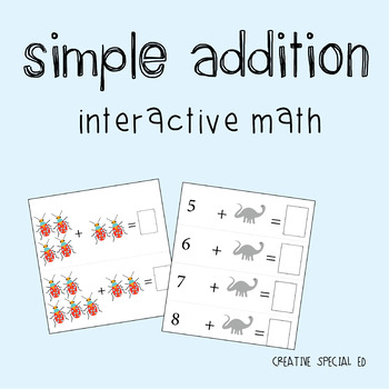Interactive Basic Math: Picture Addition