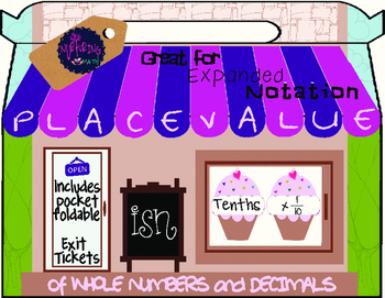 Interactive Place Value Chart with Expanded Notation