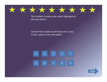 Interactive Powerpoint Place Value Game Use On Smartboard