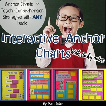 Reading Comprehension: Interactive Sticky Note Anchor Charts