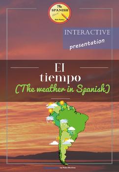 Interactive Presentation: The weather in Spanish (el tiemp