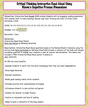 Interactive Read Aloud - Pete & Pickles by Berkeley Breath