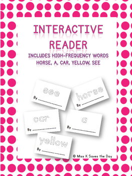 Interactive Readers - High Frequency Words
