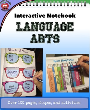 (SALE) Interactive Readers Notebook: Take your notebook to