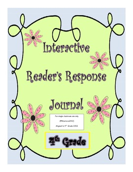 Interactive Notebook and Journal for 4th Grade CCSS