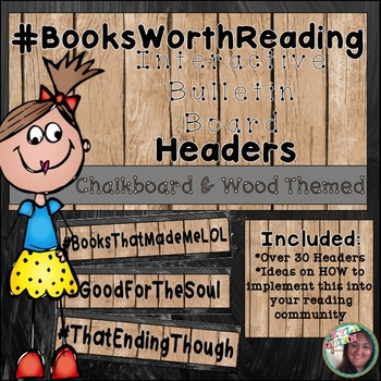Interactive Reading Bulletin Board: Hashtag Headers for Bo