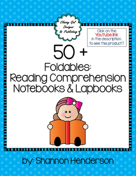 Interactive Reading Comprehension Notebook with Foldables