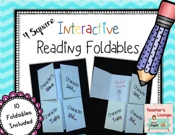 Interactive Reading Foldables FREEBIE