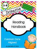 Interactive Reading Handbook / Notebook for Student Binder