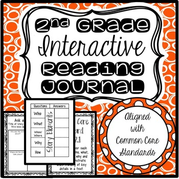 Interactive Reading Journal (2nd Grade-Common Core!)