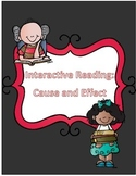 Cause and Effect Interactive Reading Notebook Pages