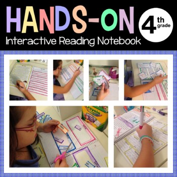 Interactive Reading Notebook Fourth Grade Common Core