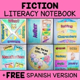 Literacy Interactive Notebook for Fictional Literature