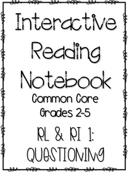 Interactive Reading Notebook: Literature and Informational