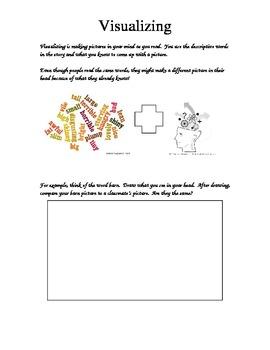 Interactive Reading Notebook Visualizing Sheet