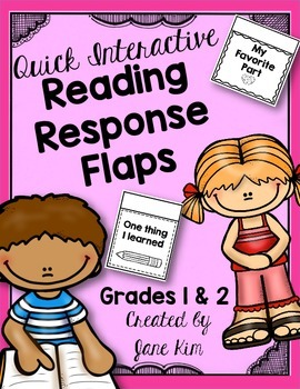 Interactive Reading Response Flaps-Grades 1 & 2