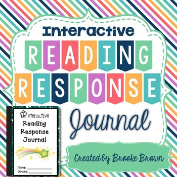 Interactive Reading Response Journal