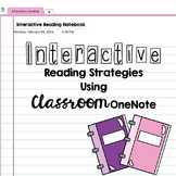 Interactive Reading Strategies for Classroom OneNote