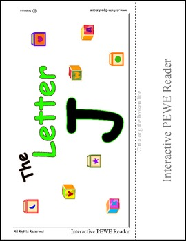 Interactive Reading for the Letter J - PEWE Reader - PECS