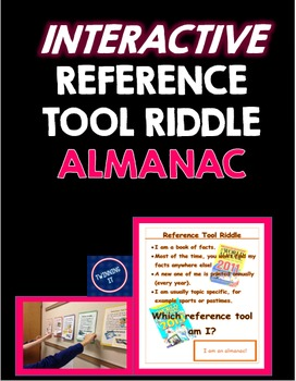 Interactive Reference Tool Riddle Almanac