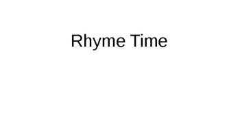 Interactive Rhyme Time