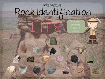 Interactive Rock Identification LITE