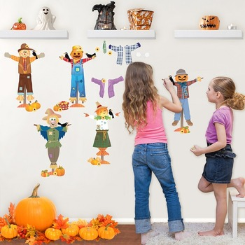 Interactive Scarecrow Wall Play Set