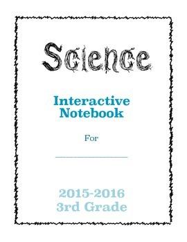 Interactive Science Notebook 3rd Grade FOSS