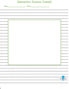 Interactive Science Notebook/Journal